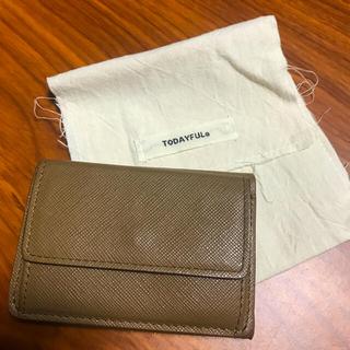 トゥデイフル(TODAYFUL)のTODAYFUL Leather Mini Wallet (財布)