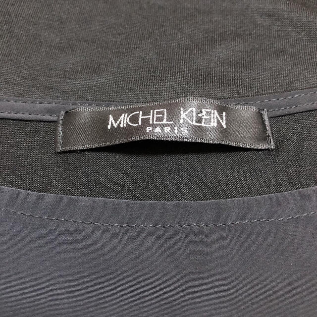 MICHEL KLEIN(ミッシェルクラン)のMICHEL KLEIN シアー切り替え カットソー*ミラーオーウェン ZARA レディースのトップス(カットソー(長袖/七分))の商品写真