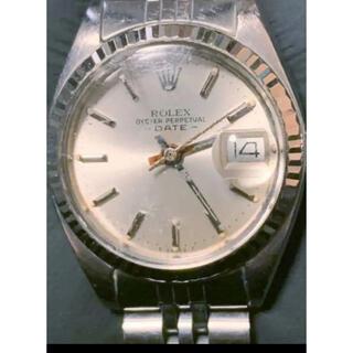 ロレックス(ROLEX)の【送料無料】ジャンク レディースOYSTER PERPETUAL DATE(腕時計)