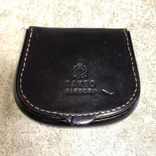 タケオキクチ(TAKEO KIKUCHI)のタケオキクチ コインケース 小銭入れ 黒 ブラック(コインケース/小銭入れ)