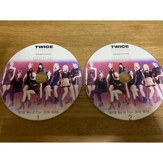ウェストトゥワイス(Waste(twice))のTWICE トゥワイス DVD 『WORLD TOUR 2019 SEOUL』(ミュージック)