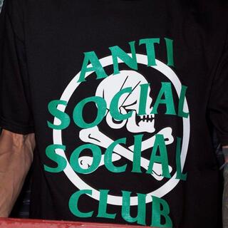 アンチ(ANTI)のNEIGHBORHOOD ASSC / C-TEE . SS BLACK / L(Tシャツ/カットソー(半袖/袖なし))