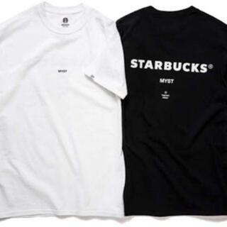 スターバックスコーヒー(Starbucks Coffee)のスターバックス フラグメント 限定 Tシャツ MYST 宮下公園黒白セット(Tシャツ/カットソー(半袖/袖なし))