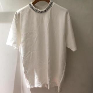アクネ(ACNE)のACNE STUDIOS アクネ ネック ロゴ シャツ シュプリーム (Tシャツ/カットソー(半袖/袖なし))