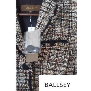 ボールジィ(Ballsey)のBALLSEY 新品大人女子ツィードジャケット(ノーカラージャケット)