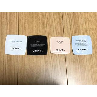 シャネル(CHANEL)のCHANEL シャネル サンプル4種(サンプル/トライアルキット)