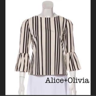 アリスアンドオリビア(Alice+Olivia)のAlice+Olivia コットン100% ブラウス アリスオリビア(シャツ/ブラウス(長袖/七分))