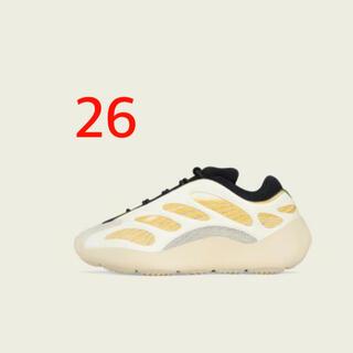 アディダス(adidas)のADIDAS YEEZY 700 V3 SAFFLOWER 26(スニーカー)