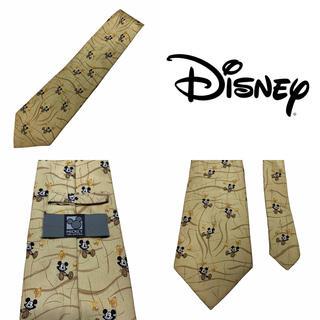 ディズニー(Disney)のDisney ディズニー シルク ネクタイ ミッキーマウス キャラクター ロゴ(ネクタイ)