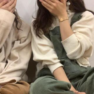 サマンサモスモス(SM2)のサーマル ワッフル tシャツ sm2(シャツ/ブラウス(長袖/七分))