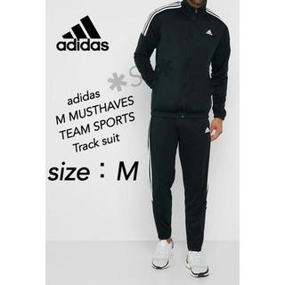 アディダス(adidas)の新品 adidas アディダス トラックスーツ ジャージ 上下 ブラック M(ジャージ)