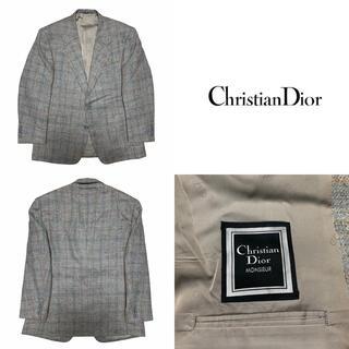 Christian Dior - Christian Dior ディオール チェック柄 テーラードジャケット