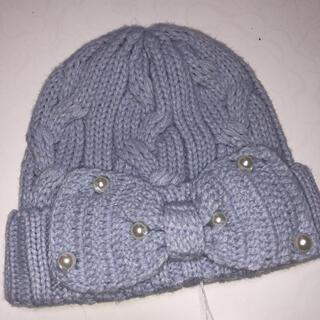 ベベ(BeBe)の新品 BeBe べべ 女の子 ニット帽 48cm~52cm(帽子)