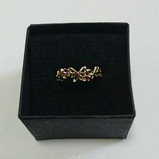 蝶のピンキーリング(リング(指輪))