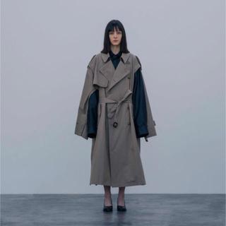 サンシー(SUNSEA)のstein deformation trench coat (トレンチコート)