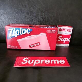 シュプリーム(Supreme)のsupreme ジップロック&バンドエイドセット(日用品/生活雑貨)