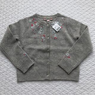 Bonpoint - 新品 6A ボンポワン 刺繍 カーディガン