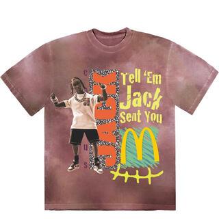 マクドナルド(マクドナルド)のtravisscott McDonald jack smile T-shirt(Tシャツ/カットソー(半袖/袖なし))