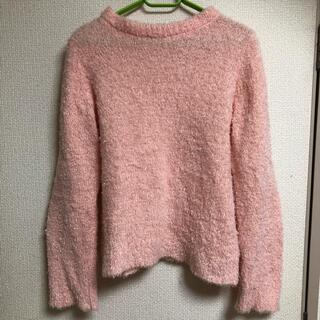 フタフタ(futafuta)のキッズ 150 ピンクセーター 長袖トップス(ニット)