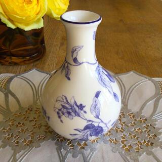 ウェッジウッド(WEDGWOOD)のウェッジウッド  ブループラム  フラワーベース(花瓶)