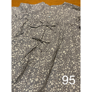 futafuta - 最新作☆*:.。テータテート花柄ワンピース 濃肌色95 tete a tete