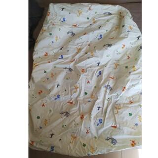 アカチャンホンポ(アカチャンホンポ)のボックスシーツ子供用 70cm×120cm 1回のみ使用(シーツ/カバー)