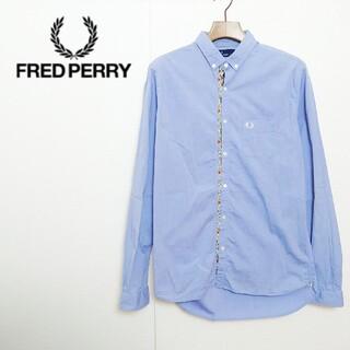 フレッドペリー(FRED PERRY)のFRED PERRY フレッドペリー ロゴ刺繍シャツ(シャツ)