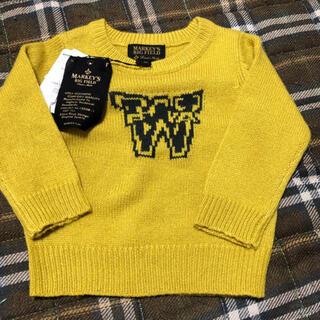 マーキーズ(MARKEY'S)の新品マーキーズ   セーター 80(ニット/セーター)