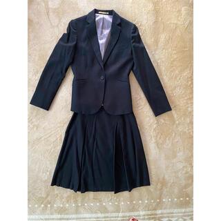 オリヒカ(ORIHICA)のスカートスーツ 黒色 ブラック (スーツ)