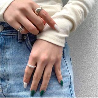 フリークスストア(FREAK'S STORE)のsilver925 2way pointed moon ring-silver-(リング(指輪))