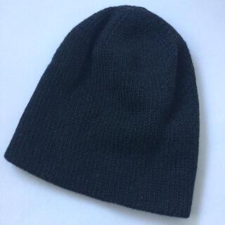 アタッチメント(ATTACHIMENT)のattachment ニット帽 新品 チャコールグレー free ウール1−0(ニット帽/ビーニー)