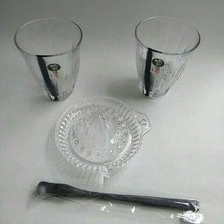 トウヨウササキガラス(東洋佐々木ガラス)の焼酎道楽 グラスセット(アルコールグッズ)
