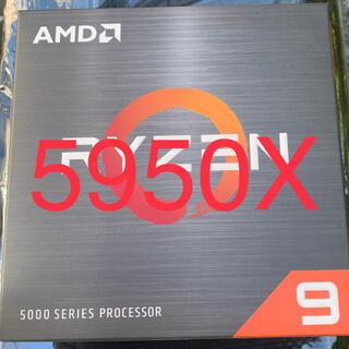 AMD RYZEN9 5950X(PCパーツ)