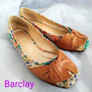 BARCLAY - Barclay  パンプス 花柄