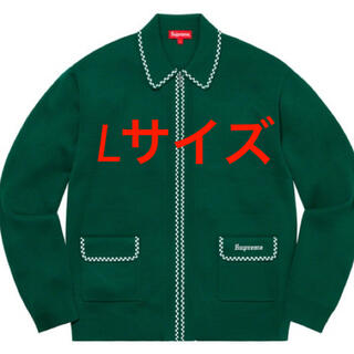 シュプリーム(Supreme)のLサイズ Supreme Checkerboard Zip Up Sweater(ニット/セーター)