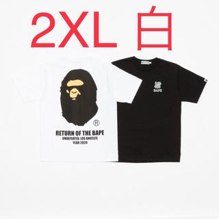 アベイシングエイプ(A BATHING APE)のBAPE X UNDFTD APE HEAD TEE 2XL(Tシャツ/カットソー(半袖/袖なし))