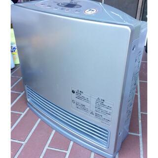 パナソニック(Panasonic)の松下 2006年 小型 ガスファンヒーター GS-20T7G 灰 ホース付 7畳(ファンヒーター)