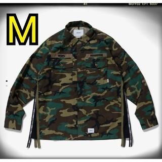 ダブルタップス(W)taps)のwtaps richardson buds shirts M(ミリタリージャケット)