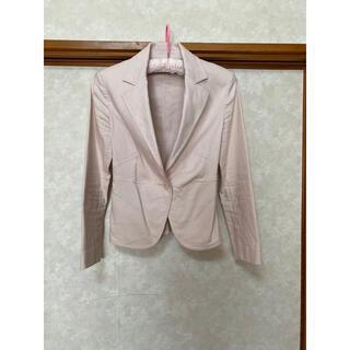 エムプルミエ(M-premier)のジャケット ピンク 長袖(テーラードジャケット)
