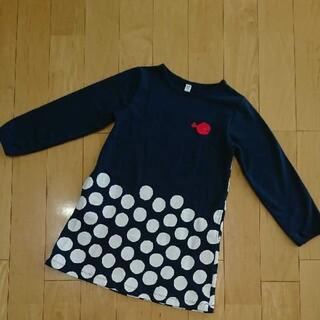グラニフ(Design Tshirts Store graniph)のグラニフ☆きんぎょがにげた ワンピース 長袖 キッズ 130(ワンピース)