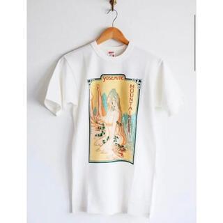 フリーホイーラーズ(FREEWHEELERS)のフリーホイーラーズ Go climb a Glamour ホワイト Tシャツ(Tシャツ/カットソー(半袖/袖なし))