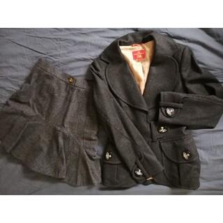 ヴィヴィアンウエストウッド(Vivienne Westwood)のVivienne Westwood ラブジャケット フレアスカート ウール (スーツ)