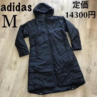 adidas - M アディダス コート 中綿コート 黒 ブラック 女性用 アディダスベンチコート