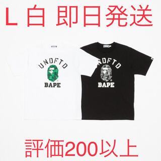 アベイシングエイプ(A BATHING APE)のBAPE X UNDFTD COLLEGE TEE (Tシャツ/カットソー(半袖/袖なし))