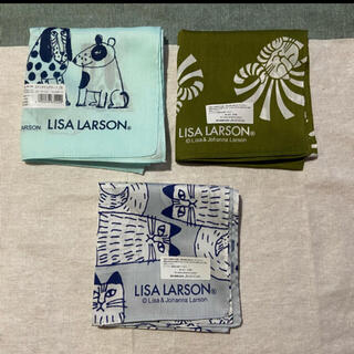 リサラーソン(Lisa Larson)のリサラーソンハンカチ(ハンカチ/バンダナ)