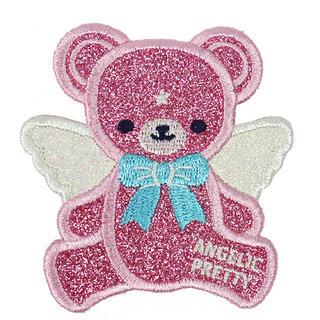アンジェリックプリティー(Angelic Pretty)のMilkyベアークリップ ピンク(バレッタ/ヘアクリップ)