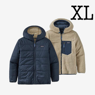 パタゴニア(patagonia)のパタゴニア リバーシブル レディフレディフーディ XL レトロX(ジャケット/上着)