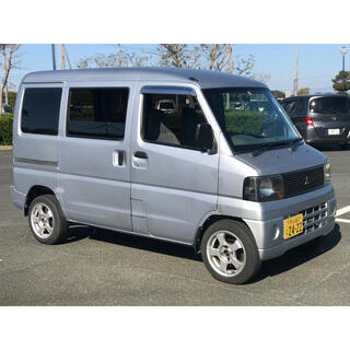 ミツビシ(三菱)の三菱 ミニキャブ バン 10万キロ以下 車検付き オートマ(車体)