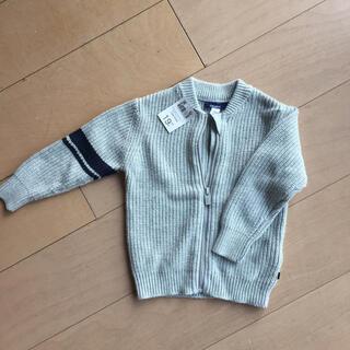 プチバトー(PETIT BATEAU)の新品未使用 男児 カーディガン okaidi(カーディガン)