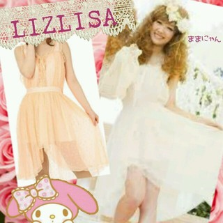 リズリサ(LIZ LISA)のLIZ雑誌掲載即日完売モーニングワンピ☆(ミニワンピース)